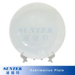 La sublimación de la placa con revestimiento cerámico blanco