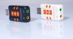 Enternal USB-2.0 virtueller 8.1 fehlerfreie Karten-Audioadapter Kanal CH-3D