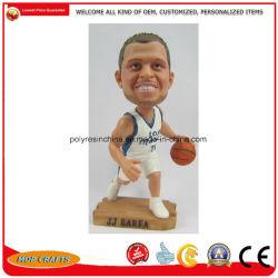 Figurine Polyresin Bobble tête pour la résine de basket-ball Bobblehead Sport