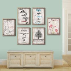 木の芸術およびクラフトの装飾的な壁の印刷のホーム装飾