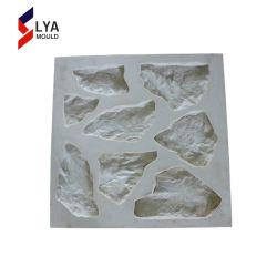 Caoutchouc de silicone moule silicone de placages décoratifs en pierre artificielle en béton du moule