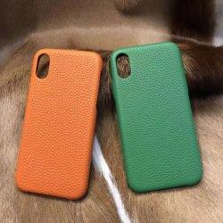 Luxo artesanais Custom iPhone couro genuíno células/Telefone celular para iPhone 7/8/9/X/SE/7plus