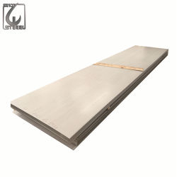 Metallo laminato a caldo del piatto dell'acciaio inossidabile dei piedi 4*8 di 5mm