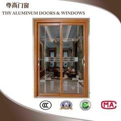 Алюминиевых строительных материалов для патио зал внутренних дел алюминиевые раздвижные двери с орнаментом