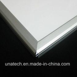 Strada di alluminio della via di tensionamento della bandiera dell'indicatore luminoso laterale del PVC LED del tessuto che fa pubblicità al blocco per grafici del manifesto della casella chiara