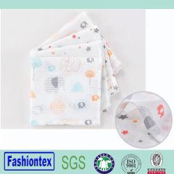 Muslin gaze de algodão toalhas de rosto Toalha de bebê nascido Arrotar Pano Macio