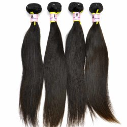 Top Kwaliteit Grade 9a 100% Silky Straight Virgin Indian Human Hair Extensions