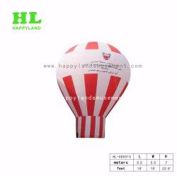 Venda a quente resfriar balões de hélio insuflável de alta qualidade para as actividades de publicidade exterior Sunshining