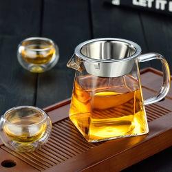Haute qualité tasse de thé froid Pormotion Bouteille de verre pour le thé vert