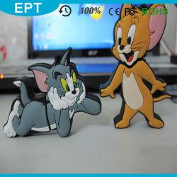 Tom et Mickey Cartoon lecteur Flash USB en forme de souris (CE005)