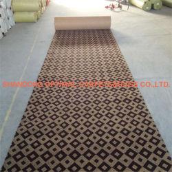 Les revêtements de sol moquette Jacquard utilisé pour la passerelle