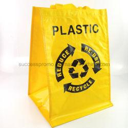 Saco de tecido PP reutilizáveis para compras, saco de promoção para a Publicidade