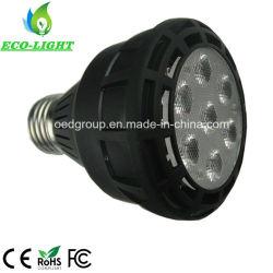 Светодиодный фонарь направленного света для освещения в помещении G12 E27 в черный корпус PAR20 20W