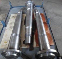 Geschmiedete Stahlwelle-Kopf-/Rollenwelle-/Drive-Welle mit großem Durchmesser