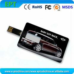 Logo personnalisé pour cadeau de la mémoire flash USB (EC008)