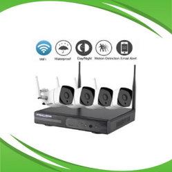 4-KANAALS draadloze IP-camera en NVR-systeem