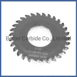 PCB V Scoring Blade - 시멘트형 카르바이드 톱 블레이드