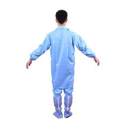Traje de sala limpia la ropa de trabajo Smock Jumpsuit Ropa de trabajo uniforme Labcoat Mono de protección ESD antiestática Batas de laboratorio sobretodo