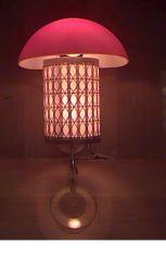 El bambú Lampshade