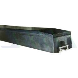 Calha de buffer da porta do compartimento de carga escorregar para resistir ao impacto da Correia Transportadora Bar