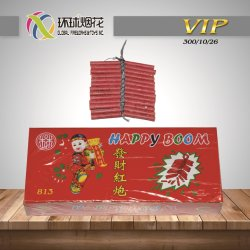 813 행복한 Boom 26s Red Traditional 1.4G Outdoor Celebration Fireworks Firecrackers