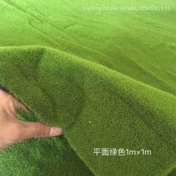 Qualitäts-künstlicher Moos-Großhandelsteppich für Dekoration