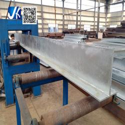 Fiche de fabrication en acier galvanisé à chaud standard australien de feux de croisement soudé linteau T T T Faisceau de barre d'acier fabriqué par la Chine manufacturier