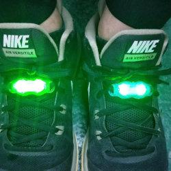 Flash LED lumière lumière Shoelace Chaussures imperméables