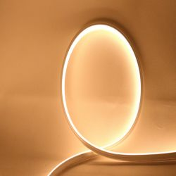 IP65/IP67 impermeabilizzano la striscia flessibile dell'indicatore luminoso della flessione del silicone di profilo al neon LED del tubo per la decorazione esterna
