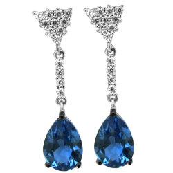 Neue silberne Frauen-Schmucksachen des Entwurfs-Formschmucksachen Ohrring-925