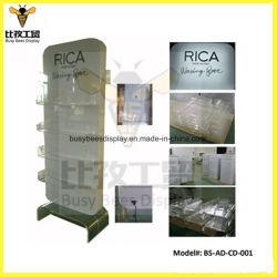 Commerce de gros bon marché cosmétique Vitrine d'affichage acrylique