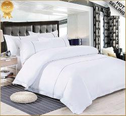 Il commercio all'ingrosso ha personalizzato l'insieme 100% dell'assestamento di PCS del lenzuolo dell'hotel del cotone 3