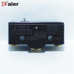 Empurre o pino 3 da série Z momentânea micro interruptor 15UM BOTÃO
