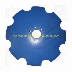 """Hojas de disco de arado de disco de arado con muescas 12""""-46""""pulgadas de diámetro"""