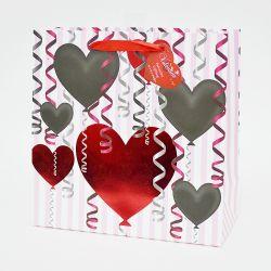 El Día de San Valentín Caliente boda bolsas de regalo de papel con asa