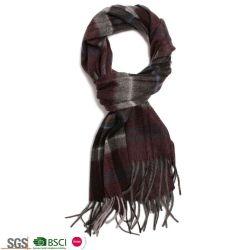 Klassiker vergittert die Form-Türkei-Schal der Woolen Kaschmir Pashmina Schal-Frauen