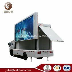 Подвижные рекламы на стендах погрузчика с Открытый Большой светодиодный экран Ван