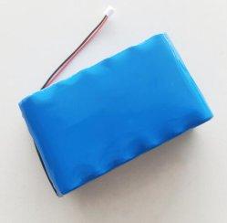 21.6V 7 Ah enveloppé rétractable PVC soft batterie Lithium Ion rechargeable battery pack 18650 3Li-ion s4p 25.2V éclairage à LED feux de la rue de la batterie solaire