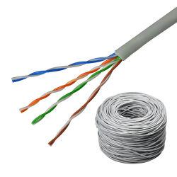 1000FT Cat5e niet-afgeschermde (UTP) PVC-jacket 0,50 mm 24AWG Ethernet-kabel