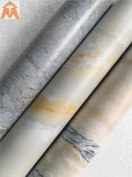La conception de marbre lisse Feuille en PVC pour panneau mural appuis de fenêtre