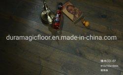 Pavimentazione di parchè larga Finished Premium del legno duro del pavimento della plancia di legno solido della quercia bianca