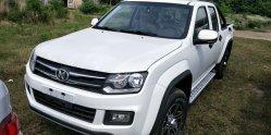 La doppia baracca 2WD prende il motore diesel di Isuzu del camion