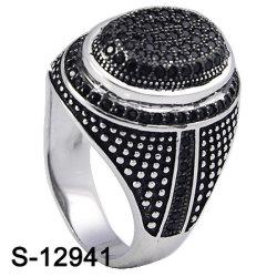 Мода украшения кольцо серебро 925 с кубической обедненной смеси камня