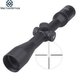 Вектор оптика континентального 1.5-9X42 1,5 тактических сферу Riflescope ружья с 6X зум мощность HD стекла на немецком языке 4 прицельной сетки