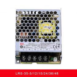 LRS-35 시리즈 35W 로우 프로파일 스위치 전원 공급 장치