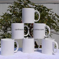 11oz de ceramische Mok van de Sublimatie, 11oz Met een laag bedekte Witte Mok, de Kop van de Reclame DIY, de Witte PromotieKop van de Koffie