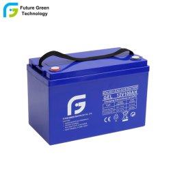 12v 100ah Gel-Batterij Met Grote Volle Capaciteit Voor Diepe Cycli
