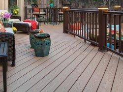 木材プラスチック複合材タンと溝複合デッキのデッキ