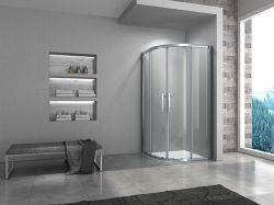 Receptáculo de ducha de alta calidad de la IGE circular en el cuadrante cuarto de baño (WM-D-009)
