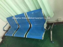 Chaire d'attente en acier inoxydable de la chambre du patient pliable Président médical d'accompagnement
